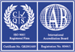 ISO 9001:2000 Quality Accreditation