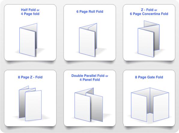 Standard paper folds